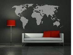 Resultado de imagen para decorado en pared gris