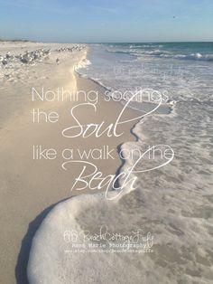 Nothing Soothes the Soul Like a Walk on the Beach (Seaside Path Coastal LIving Dunes Island Photography Ocean Sunset) Sunset Beach, Beach Bum, Ocean Beach, Khao Lak Beach, Lamai Beach, Waves, Beach Quotes, Beach Sayings, I Love The Beach