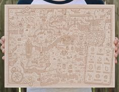 Holiday Gift Guide: Neutral GroundNeutral Ground is a digital woodshop based out of New Orleans, Louisiana with a serious love of illustrated pop culture and video game maps. If you or someone you know shares that love, then take a quick moment to...