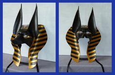 Masquerade Ball Masks: unique masquerade masks by maskmaker Helen Rich | Masks Gallery | Egyptian | Anubis Headdress