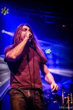Ray Alder of Fates Warning, concert in Krakow, Poland, Nov 2014
