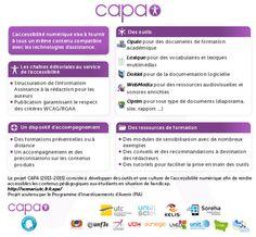 #scenari2015 CAPA – Chaînes éditoriales Avancées pour des documents Pédagogiques Accessibles |