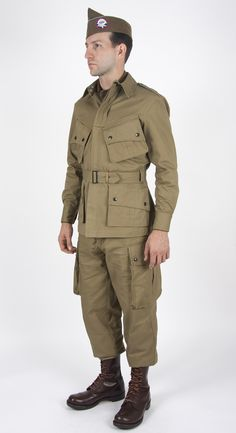 The source for authentic, quality reproduction uniforms and field gear, since Us Army Uniforms, Second Lieutenant, Band Of Brothers, Uniform Design, Paratrooper, Military Men, Drawing Clothes, Modern Warfare, World War Two