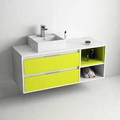 Tropcoul, meuble de salle de bain 120cm suspendu