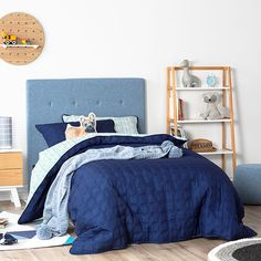 Kenji Quilted Quilt Cover Set