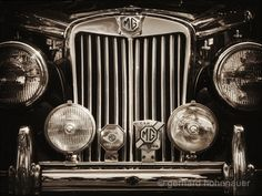 Items similar to MG-Oldtimer - Abstract monochrome photography on Etsy Mg Cars, Monochrome Photography, Antique Cars, Automobile, Canvas Prints, Garages, Safety, Wheels, Advertising