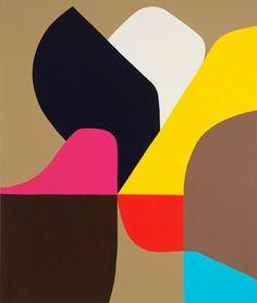 Wings of Desire © Stephen Ormandy ~ Stephen Ormandy  Polychromatism at Tim Olsen Gallery Sydney Australia ~ 7 November - 25 November