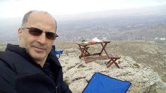 Ve ben.. Venk Malatya sağ kayalıkda  kahvaltı yükseklik 1.450 m
