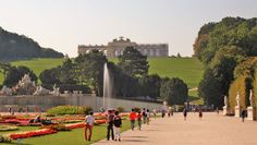 https://flic.kr/p/LJMGkj   Vienna   Schönbrunn Palace, the former imperial summer residence of the Hapsburgs, features 1,414 rooms. In 1569, Holy Roman Emperor Maximilian II purchased a large floodplain of the Wien River beneath a hill where a former owner, in 1548, had erected a mansion called Katterburg. During the next century, the area was used as a hunting and recreation ground. After the death of her husband, Ferdinand II, Eleonora Gonzaga added a palace to the Katterburg mansion…