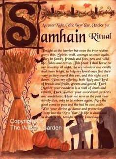 Samhain Rituals and Ceremonies