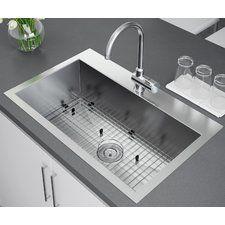Single Basin Kitchen Sink 33 X 22 Kohler k 5863 2 cape dory 33 single basin top mount enameled cast 33 x 22 drop in kitchen sink with strainer workwithnaturefo
