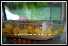 This PEACH CRISP RECIPE and pictures, with OATMEAL topping is quick and easy, and makes the best peach dessert recipe.