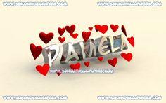 Pamela in hearts