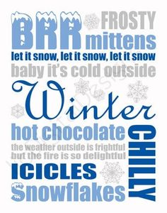 What Winter means to me....