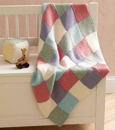 Loom knit baby throw! (Perfect for the wee ones)