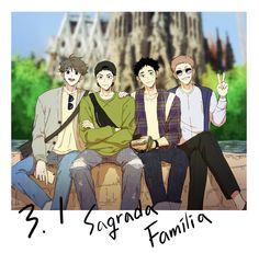 Haikyuu Manga, Haikyuu Funny, Haikyuu Fanart, Bokuaka, Iwaoi, Oikawa, Haikyuu Volleyball, Kurotsuki, Karasuno