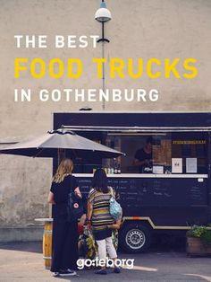 Food trucks and street food in Gothenburg, Sweden. | goteborg.com | Photo: Superstudio D&D