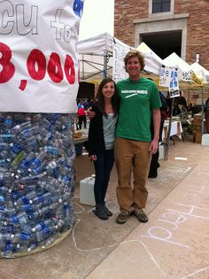 CU-Boulder students and Take Back the Tap coordinators Mickey Reams and Colleen Smith tell CU about the problems with bottled water as part of their campaign to get bottled water off their campus! Visit http://www.foodandwaterwatch.org/water/bottled/ for more on kicking the bottled water habit.