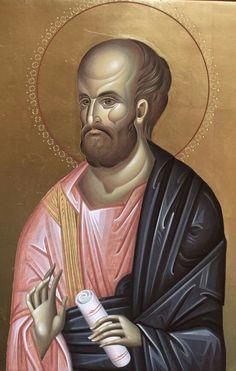 Byzantine Icons, Byzantine Art, Religious Paintings, Orthodox Icons, Sacred Art, Saints, Archangel, Statue, Religion