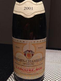 Red wine. Charmes chambertin. Laboure roi