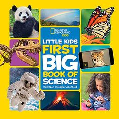 """Read """"National Geographic Little Kids First Big Book of Science"""" by Kathleen Weidner Zoehfeld available from Rakuten Kobo. This lively introduction to the fascinating world of science explores the different kinds of science, what scientists do. Best Books For Kindergarteners, Les Inventions, National Geographic Kids Books, Kindergarten Books, Interactive Learning, Science Books, Inspiration For Kids, Kids Boxing, Great Books"""