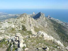 Sierra Bernia costa blanca Spain guided walking holiday