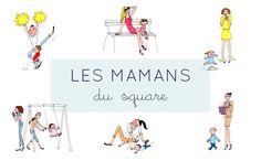 Typologie des mamans au square - My Little Kids