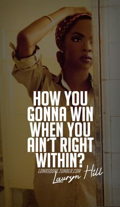 lauryn hill quotes tumblr - Google Search