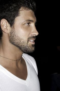 Maksim Chmerkovskiy ~ that profile makes me melt like a Popsicle on the 4th of July.