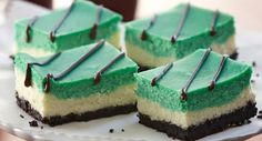 Green with Envy Cheesecake Bars from @McCormick Spice