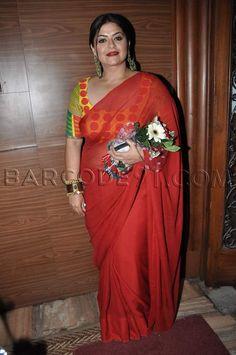 Discover thousands of images about Sarees Indian Photoshoot, Beautiful Women Over 40, Sexy Blouse, Saree Blouse, South Indian Sarees, Desi Bride, Sari Blouse Designs, Most Beautiful Indian Actress, Indian Beauty Saree