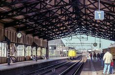 Rotterdam - Station Blaak. 1992 Voorheen Station Beurs.