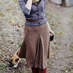 pro skirt and sweater