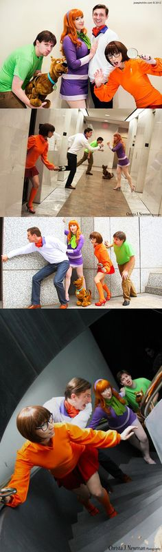Scooby Doo Gang #cosplay