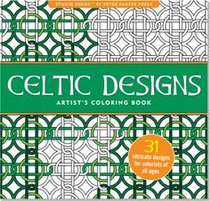 Embrace the Celtic imagination with these complex yet relaxing patterns Heavyweight, acid-free paper helps preserve your work.