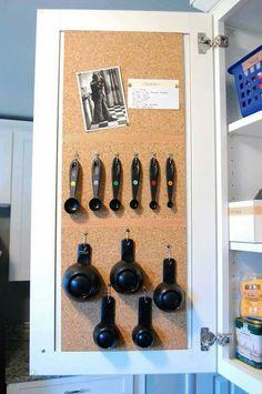 Storage idea gor kitchen cabinets