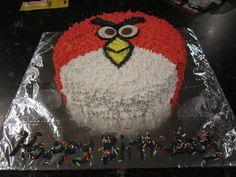 My Angrybird chocolate cake.