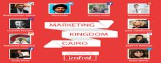 With presentations by Twitter, Google, Facebook, Yahoo!, Shazam and Coca-Cola, the Marketing Kingdom Cairo, is without doubt, this year's most anticipated marketing event in Egypt. Taking place from 25-26 October at the InterContinental Citystars Hotel in Cairo, Egypt.