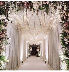 more wedding entrance decoration, wedding reception entrance, Wedding Entrance, Wedding Stage, Wedding Themes, Wedding Events, Wedding Ceremony, Wedding Decorations, Wedding Ideas, Reception Entrance, Floral Decorations