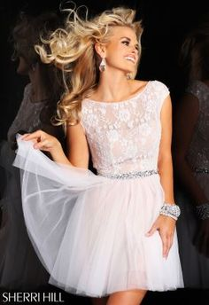 Sherri Hill 1596 THis would be so cute for engagement photos, shower and rehearsal