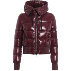 Sotiria padded jacket (3,560 SAR) ❤ liked on Polyvore featuring outerwear, jackets, padded jacket and purple jacket