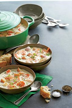 Southern Soups and Stews: Shrimp-and-New Potato Chowder