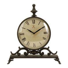 Found it at Wayfair - Eilard Iron Table Clock