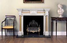 Sandringham marble fireplace - English Fireplaces