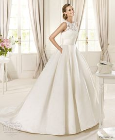 Pronovias 2013 Pre-Collection Wedding Dresses — Fashion, Costura Bridal Collections | Wedding Inspirasi
