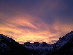 3 Schafalpköpfe #Mittelberg #Kleinwalsertal Austria, Mount Everest, Celestial, Mountains, Sunset, Nature, Travel, Outdoor, Outdoors