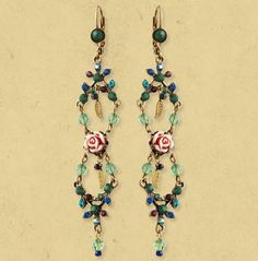 Michal Negrin DANGLE EARRINGS   1118