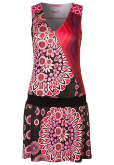 Langosta pink short jersey dress for day out.