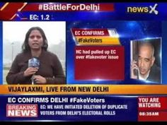 Delhi Assembly Elections/Polls: AAP had submitted list of fake voters to...