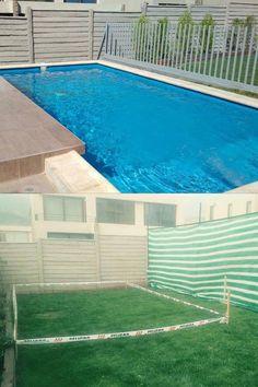 #piscinas #pool #piscinascondiseño #construcciondepiscinas #puscinasmediterraneas #piscina #piscinaschile Chile, Outdoor Decor, Home Decor, Swimming Pool Construction, Decks, Chili Powder, Chilis, Interior Design, Home Interior Design